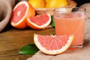 Grapefruit ist gut zum Abnehmen