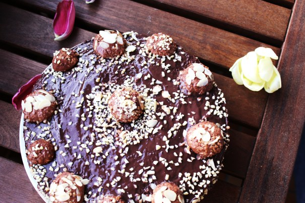 LOW CARB ROCHER TORTE