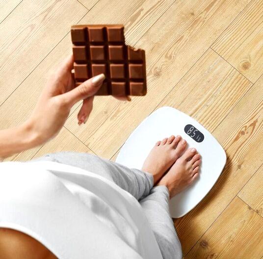 schokolade abnehmen ohne hungern schlank bleiben und sein